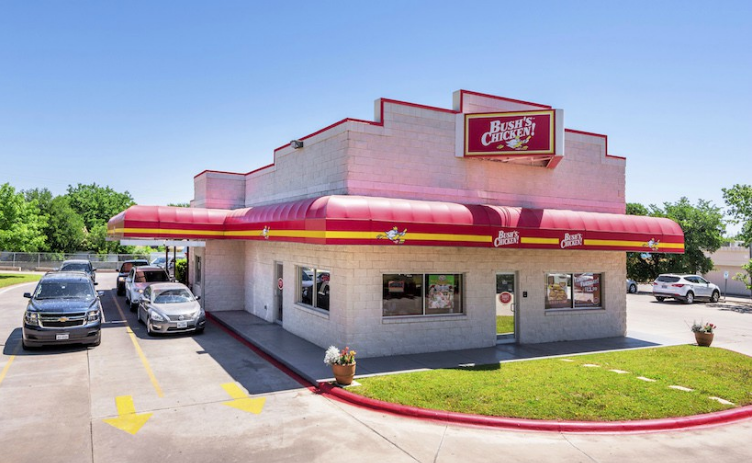 Represented buyer with triple-net lease back sale of Bush's Chicken in Georgetown, TX